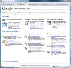 herramienta seo webmaster tool